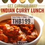 """Get Curried Away"" Every Friday – Indian Curry Lunch  at Dee Lounge and Beer Garden"