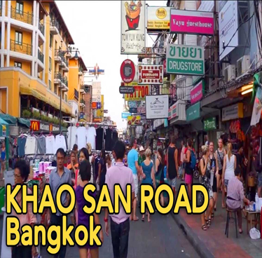 Khao San Road Bangkok is not for me, but I get it