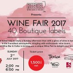 Riedel Wine Bar & Cellar presents Wine Fair 2017 - 2 July 2017