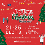K Village Christmas Market - 21-25 December 2018