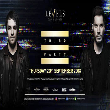 THIRD PARTY at Levels – Thursday 20th September 2018