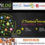 TILOG : The 10th Thailand International Logistics Fair 2014 @ Bitec Bangna – 24th to 27th September