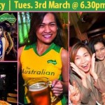 Mango Metro Magazine Party at The Australian Pub & BBQ – Tuesday 3rd March 2015