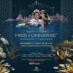 Miss Universe 2018 at Impact Arena - Monday 17th December