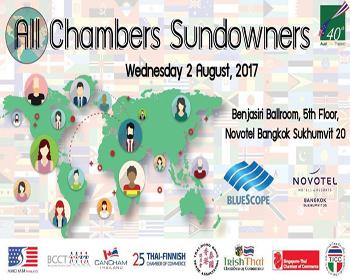 All Chambers Sundowners At Novotel Bangkok – 02 August 2017