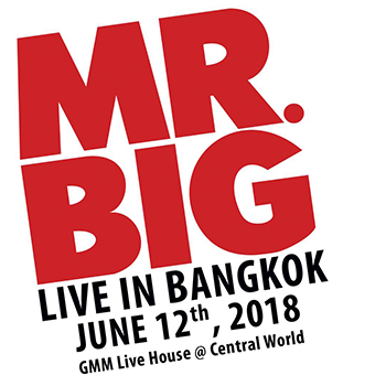 MR BIG – Live in Bangkok at Gmm Live House – 12 June 2018