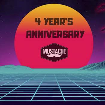 4 year's Anniversary of Mustache Bangkok – Friday 8th February 2019