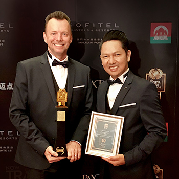 "Oasis Spa China voted ""Asia's Top Wellness Spa"" 2017"