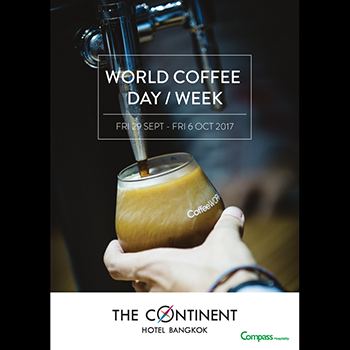 official photo for World Coffee Day and Week.