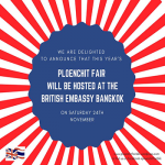 Ploenchit Fair 2018 at British Embassy Bangkok - 24 November