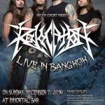 Revocation live in Bangkok at Immortal Bar – Sunday 7th December 2014