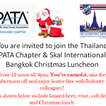 Annual PATA Thailand Chapter/Skal International Bangkok Christmas Charity Luncheon at Queen Sirikit National Convention Center – 11th December 2014