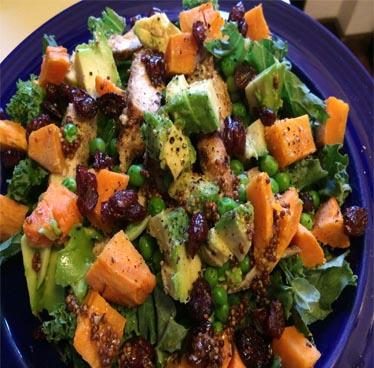 Healthy Chicken Salad Recipe With Sweet Potato