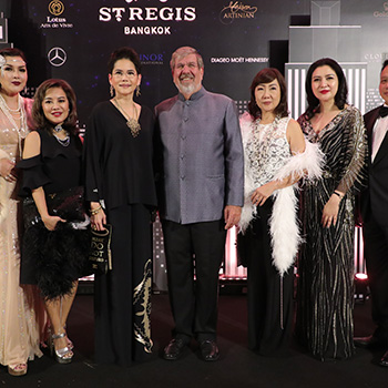 The St. Regis Bangkok Charity Gala & Auction 2018: An Evening Of Philanthropic Manhattan Flair