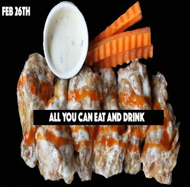 All You Can Eat and Drink at Sway – Sunday 26th February 2017