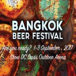 Bangkok Beer Fest. by StoneHead At Show DC Oasis Outdoor Arena / 01-03 September 2017