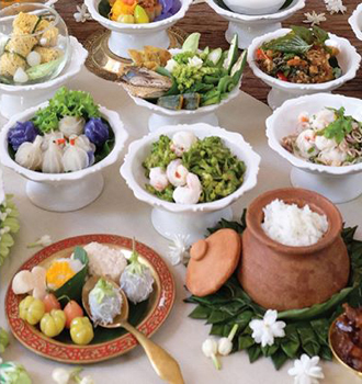 Mother's Day Celebration Thai Buffet Lunch & Dinner At Hua Chang Heritage Hotel/12 Aug 2017