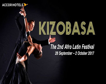 Kizobasa 2017:The 2nd Afro Latin Festival@Pullman Bangkok Sukhumvit 28 Sep-02 Oct 2017